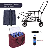 REDCAMP Collapsible Wagon Cart,1200D Removable