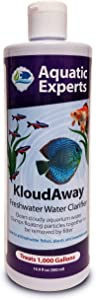 KloudAway Freshwater Aquarium Water Clarifier - Clears Cloudy Water, Water Clarifier for Fish Tank, Made in USA