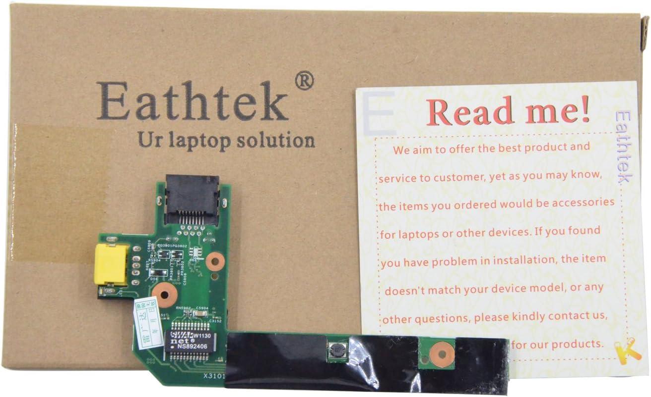 ORIGINAL Lenovo ThinkPad E520 DC-IN Power Ethernet Port Jack Board 55.4MH03.001