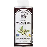 La Tourangelle Roasted Walnut Oil, All-Natural, Artisanal, Great for Salads, Grilled Fish & Meat, or Pasta, 8.45 Oz