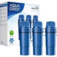 AQUACREST CRF-950Z Pitcher Water Filter, Compatible with Pur Pitchers and Dispensers PPT700W, CR-1100C, DS-1800Z and PPF951K, PPF900Z Water Filter (Pack of 3) (Packing May Vary)