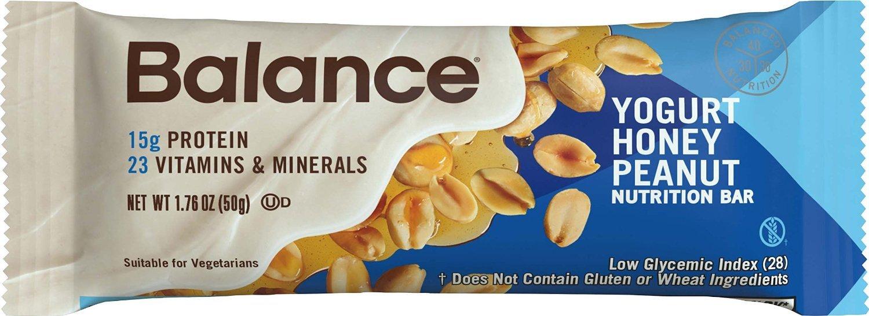 Balance Bar® Yogurt Honey Peanut, 1.76 ounce bars, 6 count