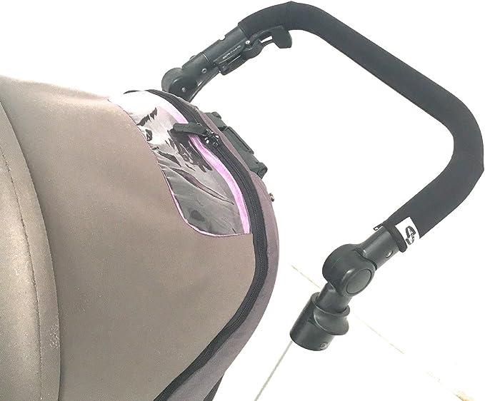 Se pone encima de la goma original Funda protectora de neopreno para manillar de carrito Jane Rider y Muum