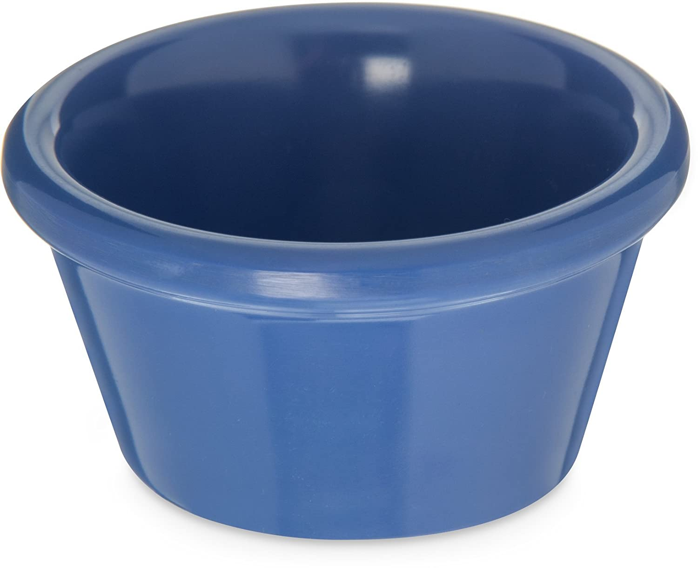 Carlisle 085214 Melamine Smooth Ramekin, 2 oz. Capacity, Ocean Blue (Case of 72)