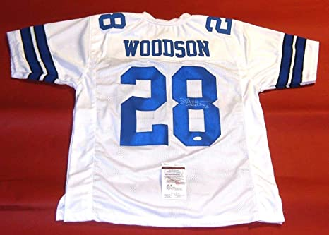 DARREN WOODSON AUTOGRAPHED DALLAS COWBOYS JERSEY JSA at Amazon s ... 9305a7462