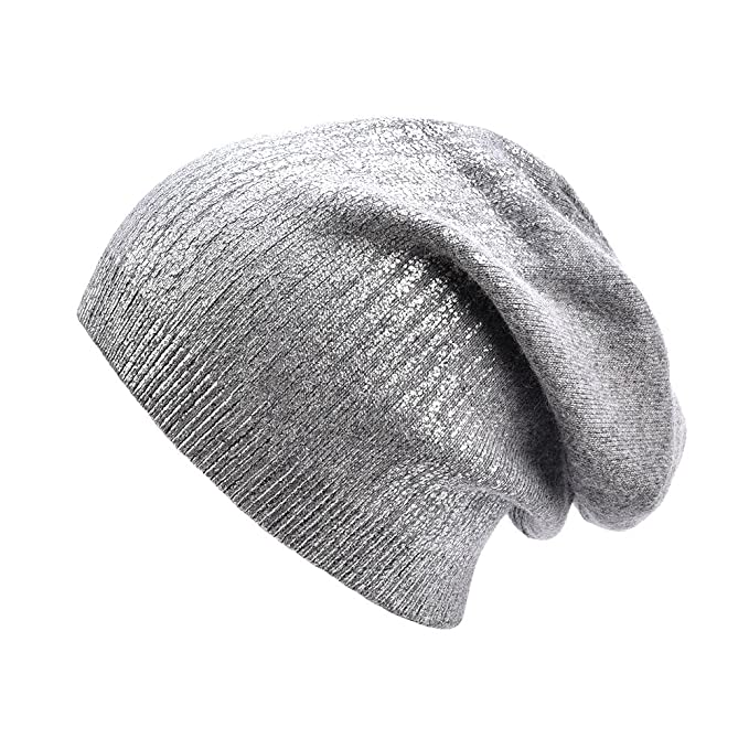 c45f5b3e5a8 ENJOYFUR Beanies Hats Slouchy Warm Soft Knitted Winter Beanies Hat Skull  Cap Wool Beanie for Women