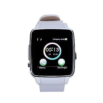 Vinteky® X6 Montre Connectée Bluetooth Podomètre Smart Watch Sport Smartwatch Support Carte SIM pour Android