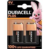 Duracell Batterijen 9 V Plus, 2 stuks