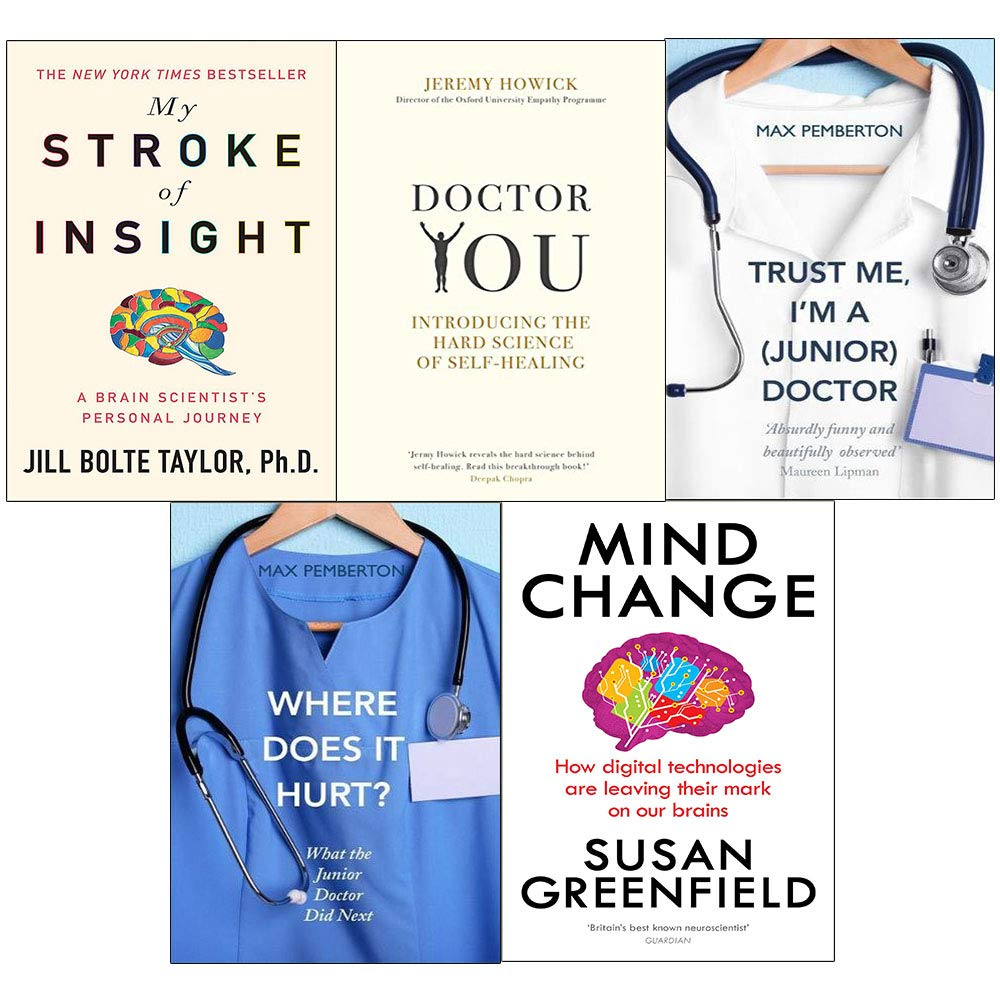 Mind change, my stroke, doctor you, trust me and where does it hurt 5 books collection set PDF