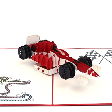 Amazon Liif F1 Racing Pop Up Card Card Pop Up Card For