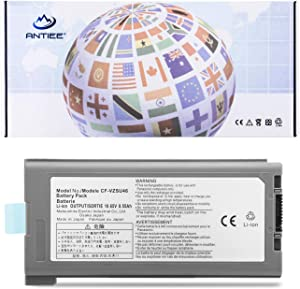 ANTIEE 9Cell CF-VZSU46 CF-VZSU46S Laptop Battery for Panasonic Toughbook CF-30 CF-31 CF-53 MK1 MK2 MK3 MK4 Series Notebook CF-VZSU46R CF-VZSU46AU CF-VZSU71U CF-VZSU72U CF-VZSU1430U CF-VZSU46U