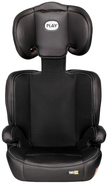 gris//negro Silla de coche grupo 2//3 Isofix Play Two Fix