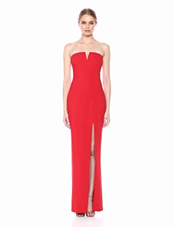 163b27250987 LIKELY Women's Windsor Strapless Fitted Gown at Amazon Women's ...