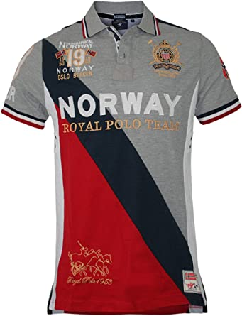 Geographical Norway Hombre Diseñador Polo Shirt Camisetas - KORWAY ...
