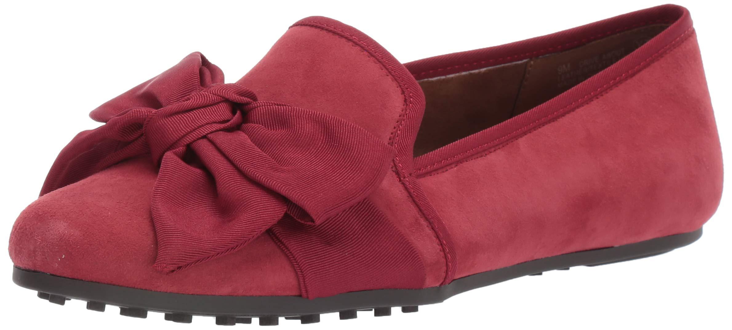Aerosoles Women's Driving Style Loafer, Dark Red Suede, 11 M US by Aerosoles