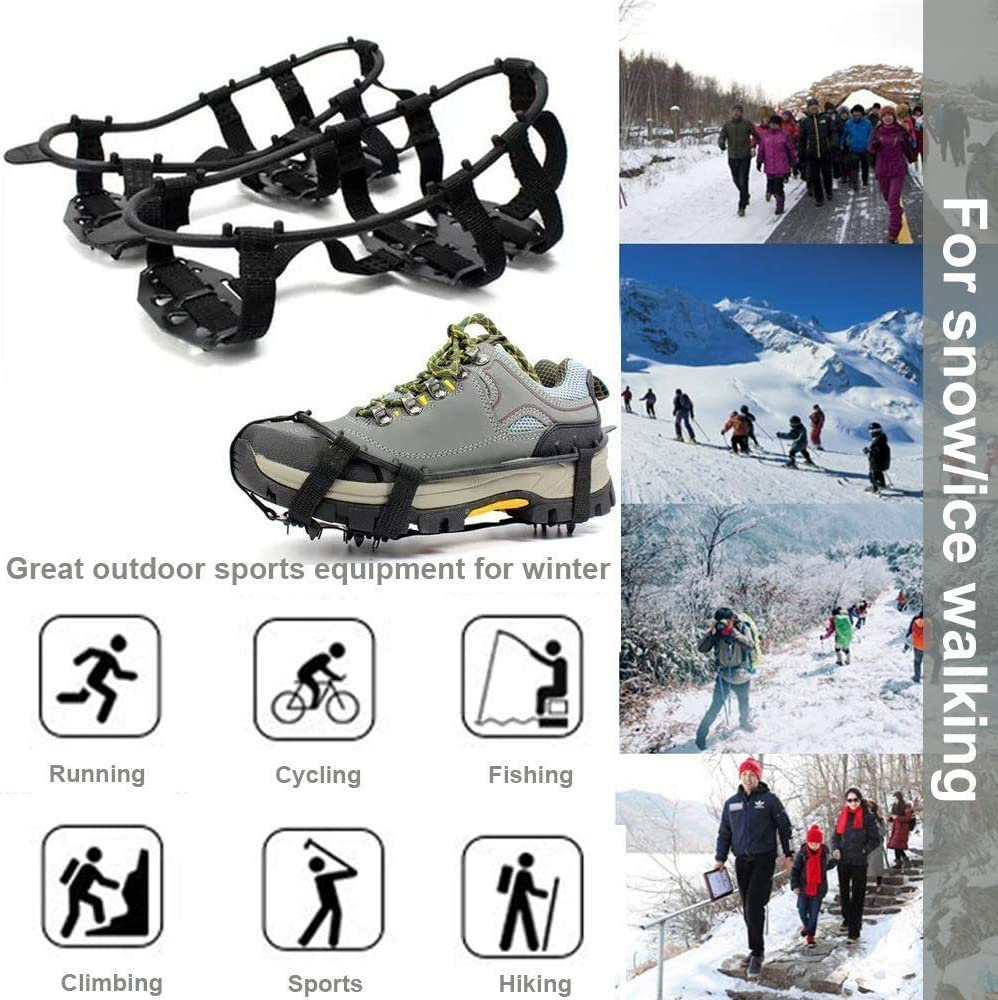 2 Pairs Snow Trax.Ice//Snow Grips for Lady Shoe Size 4-9
