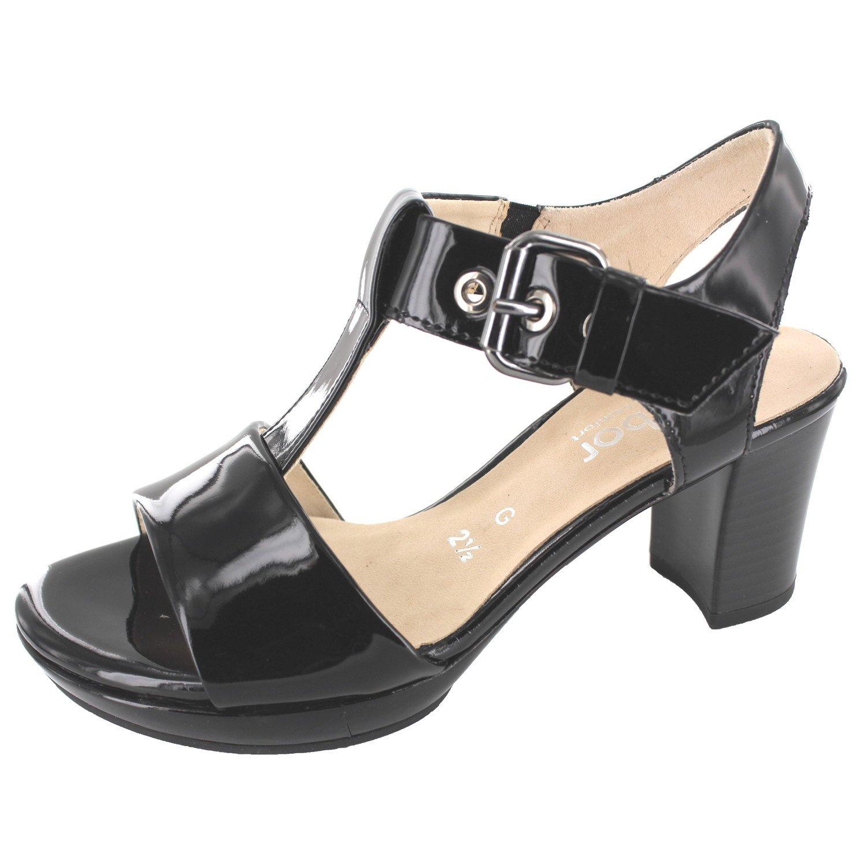 super specials performance sportswear usa cheap sale Gabor 62.394.97 Womens Sandal, Black 9.5 UK Over-Size ...