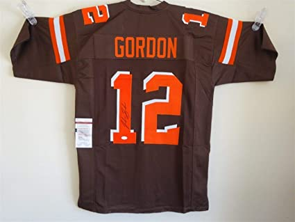 newest collection 87daf a715f JOSH GORDON SIGNED AUTO CLEVELAND BROWNS BROWN COLOR RUSH ...