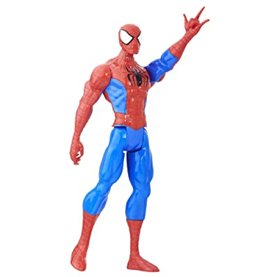 Marvel Spider-Man Titan Hero Series Spider-Man Figure: Toys & Games