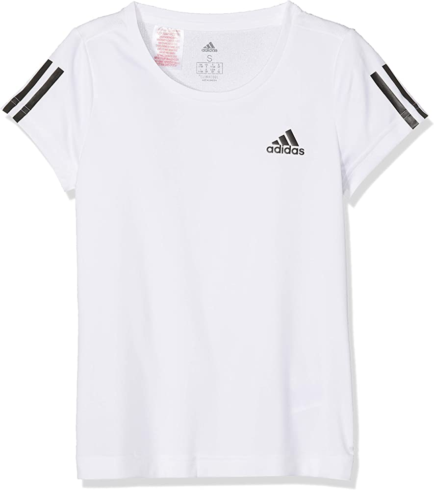 adidas Equipment T Camiseta, Niñas, Blanco (White/Black), 7-8 años ...