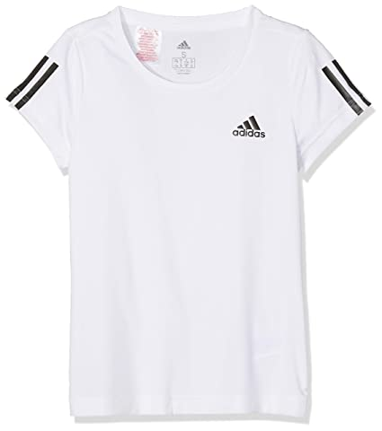 T shirts, tops et chemisiers Fille adidas Yg E Lin T Shirt