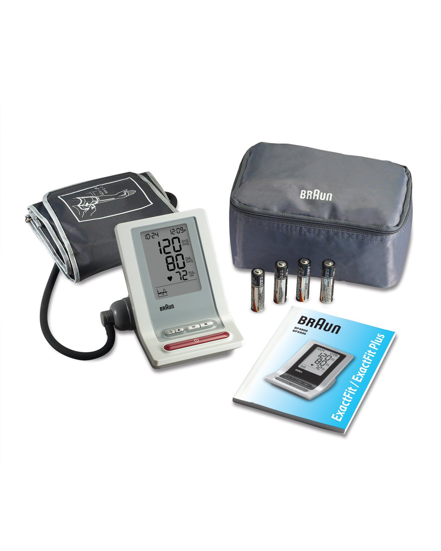 Braun Exactfit Bp4900 - Tensiómetro de brazo: Amazon.es: Salud y cuidado personal