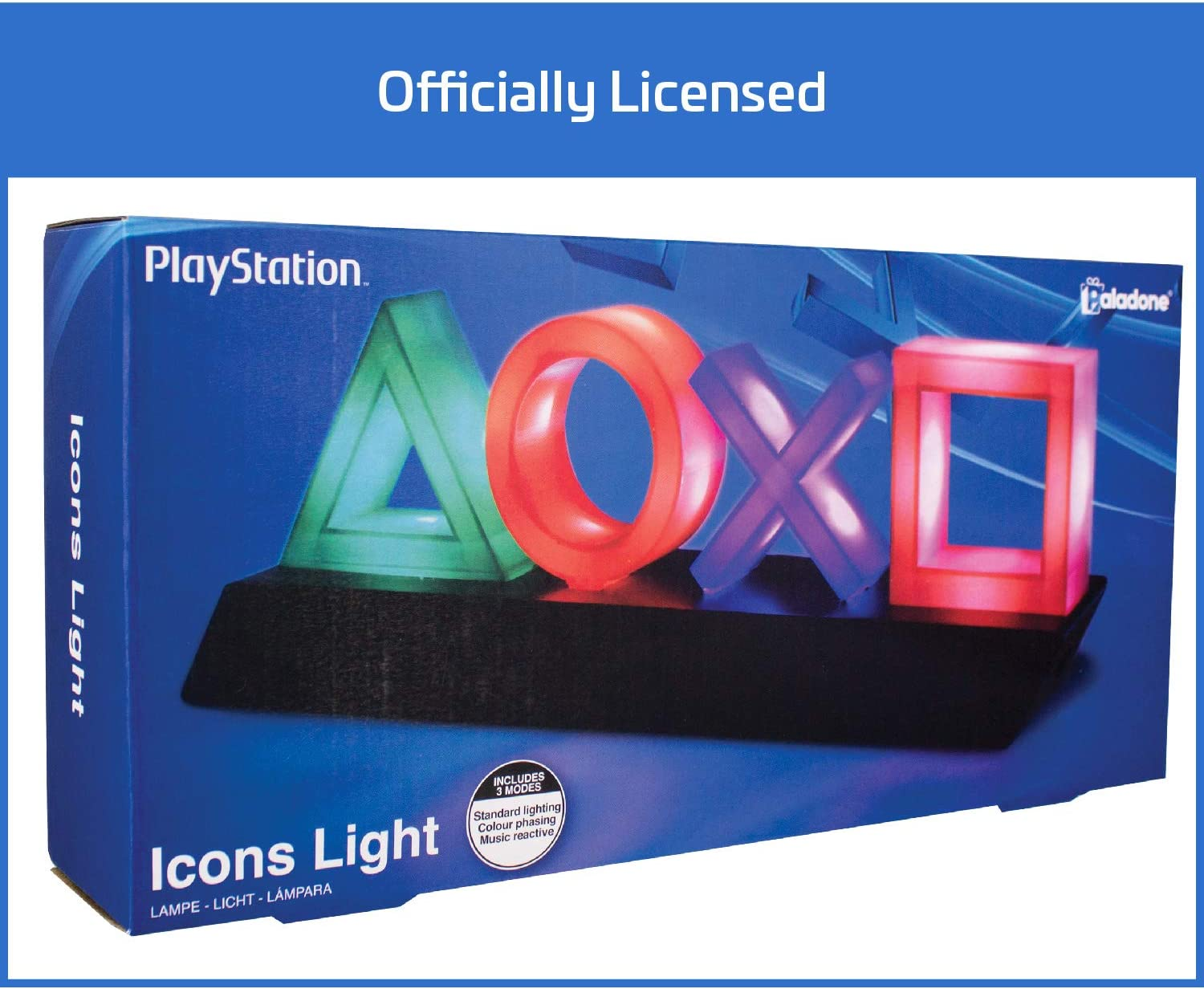 Amazon.com: Paladone Playstation Icons Light: Toys & Games