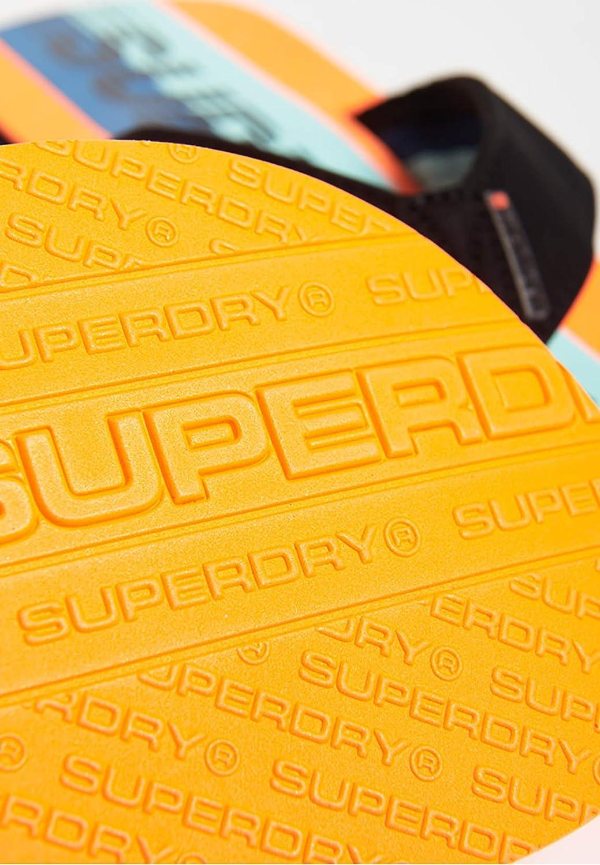 Chaussures homme Superdry Tongs Trophy 2.0 BlackOrange