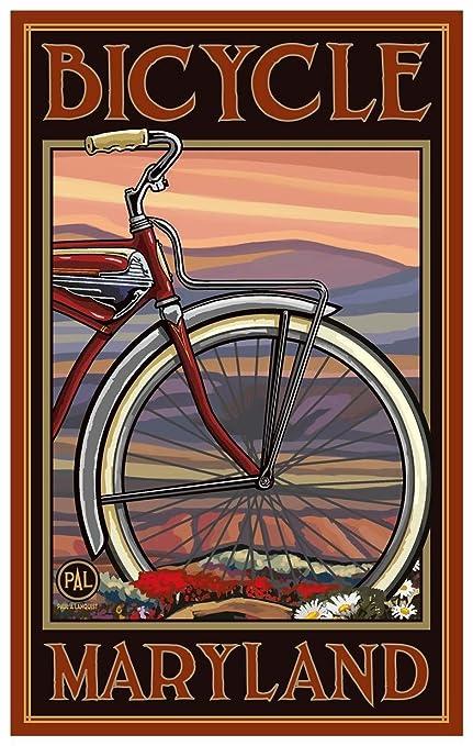 Columbia Bicycle Vintage Advertising 18x24 Poster