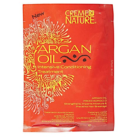 Amazon.com : Creme of Nature Argan Oil Intensive Conditioning Treatment, 1.75 Ounce : Hair And Scalp Treatments : Beauty