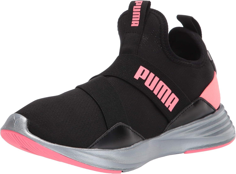 PUMA Women's Max Financial sales sale 79% OFF Radiate Mid Cross Pearl Trainer