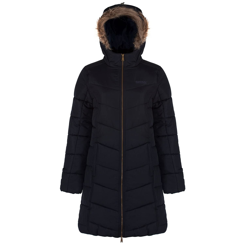 RRP £90 Regatta Womens//Ladies Fermina i ii Thermoguard Padded Long Coat//Jacket