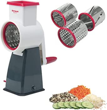 Westmark Rotary Cheese Grater with 4 Interchangeable Drums