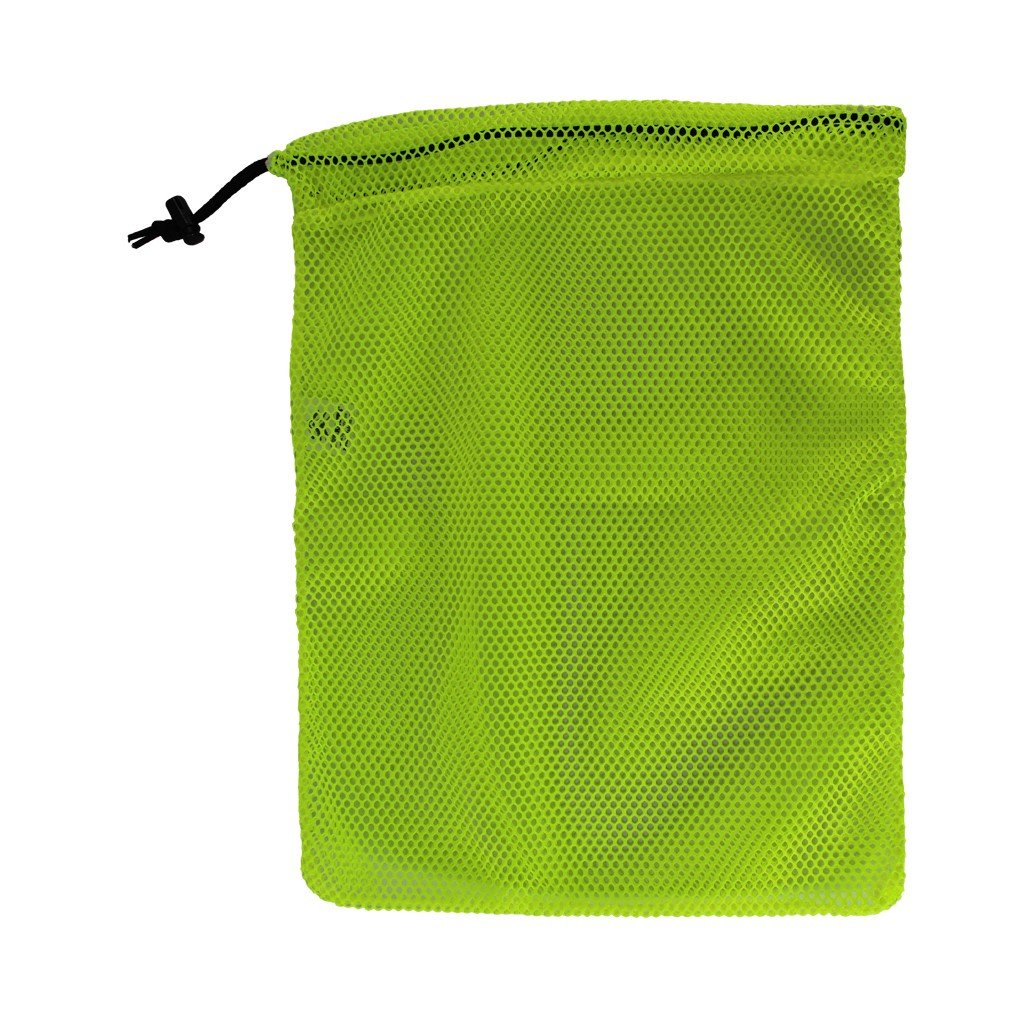 Camping - Gym Clothes Swimming Ventilated Washable Reusable Stuff Sack for Laundry Small, Medium, or Large 14 Colors SGT KNOTS Mesh Bag USA Made 550 Paracord Drawstring Bag