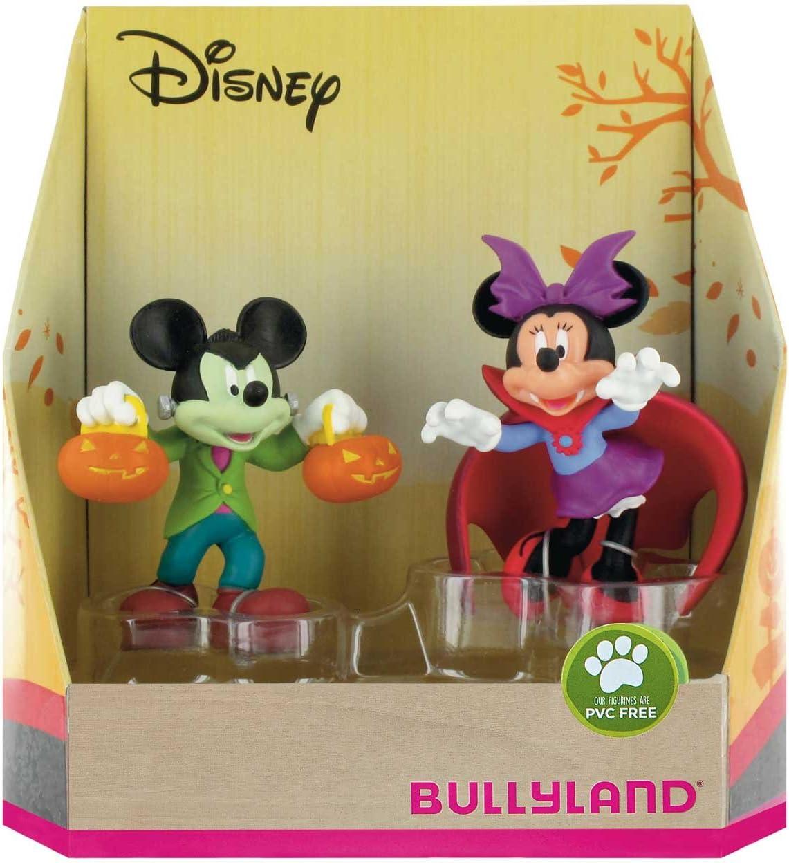Bullyland 15082 - Juego de Figuras de Mickey y Minnie para Halloween: Amazon.es: Juguetes y juegos