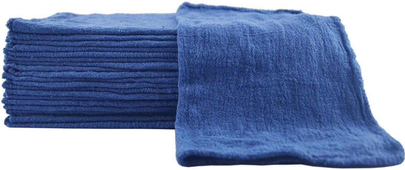 Sara Glove 14 x 14 Shop Towel/Mechanic's Rag (Blue) (500 Count)
