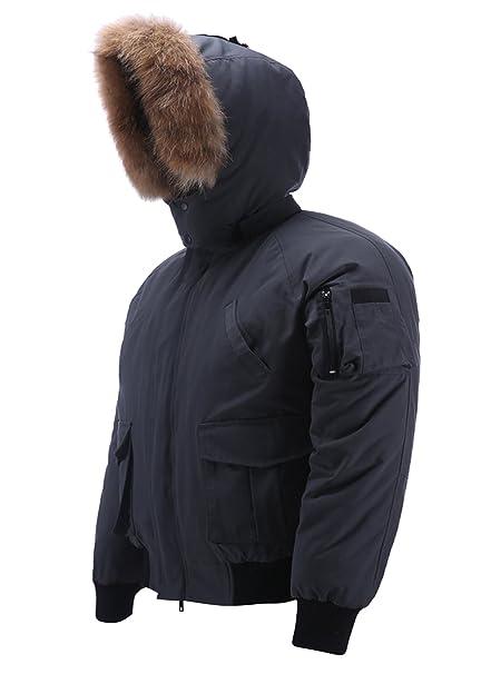 Amazon.com: Arctic - Chaqueta de invierno para hombre con ...