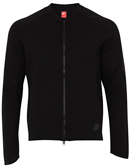 daefe655690a Amazon.com  NIKE Sportswear Tech Knit Mens Bomber Jacket  Nike ...