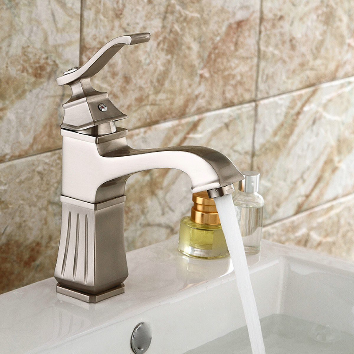 LDONGSH Drawing Home Hotel Under The Basin European Sink Basin Faucet Tap