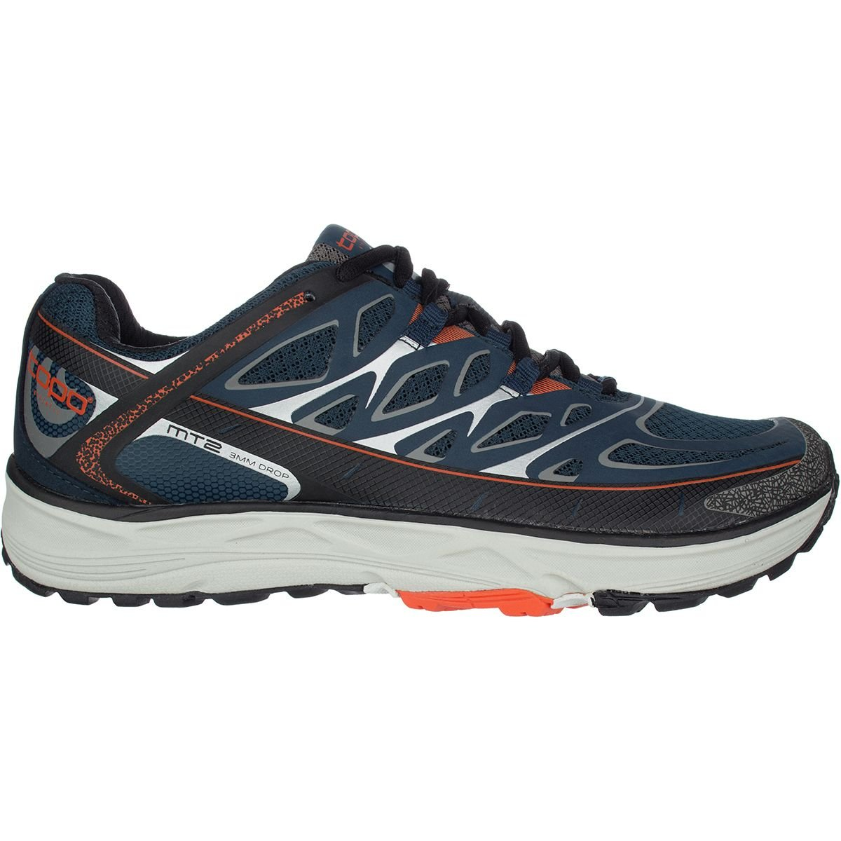 Topo Athletic mt2 Running Shoe – Men 's B06W5895F4 11.5 D(M) US|Navy/Grey Navy/Grey 11.5 D(M) US