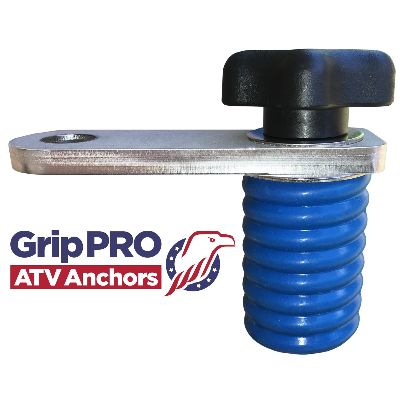 GripPRO ATV Anchors Polaris Flag Mount - RANGER Lock and Ride UTV Flag Pole Holder - Quick Release Bracket