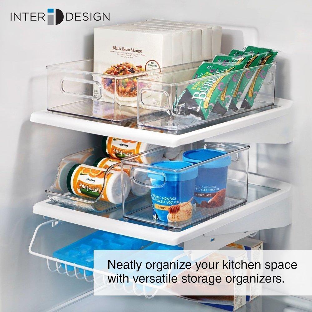 Amazon.com - InterDesign Stackable Kitchen Storage Organizer Bins ...