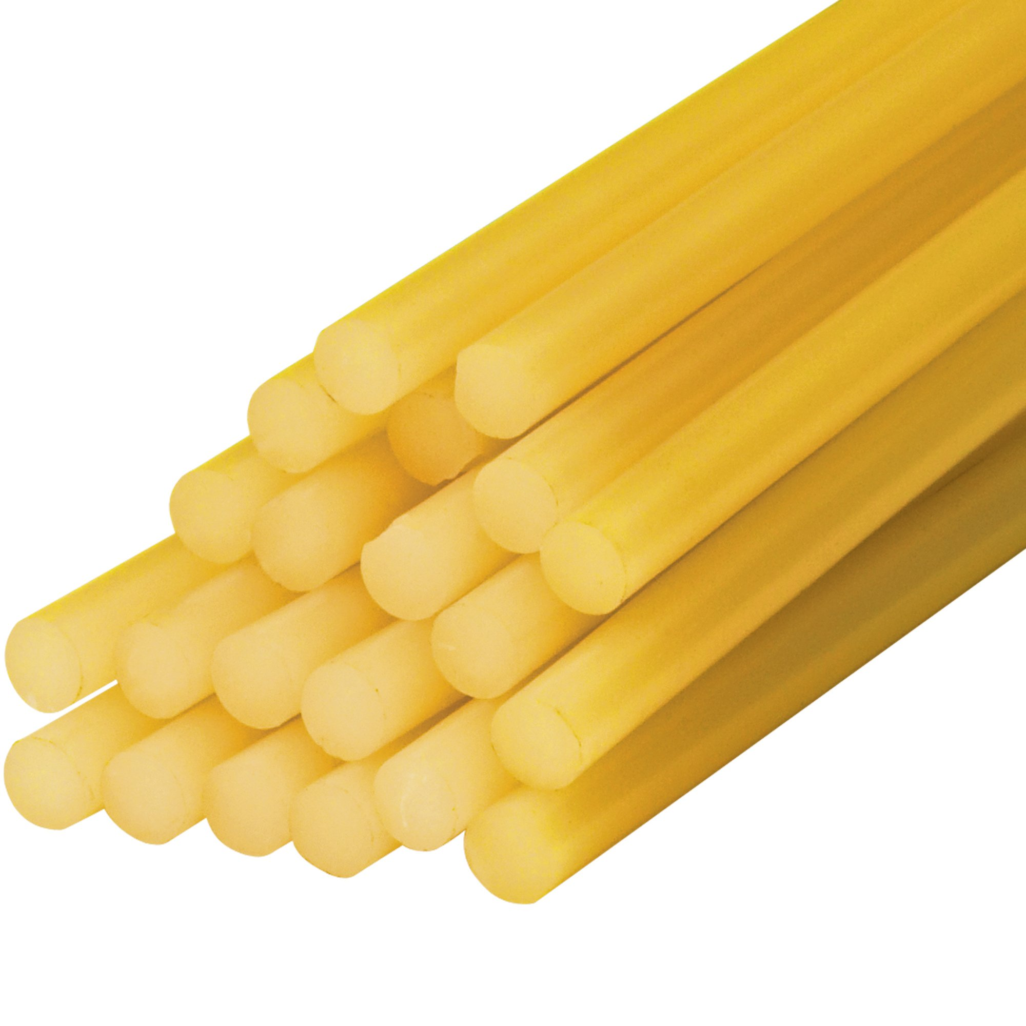 BOX BGL4007 Amber Glue Sticks,15'' Length, 0.5'' Width (Pack of 60)