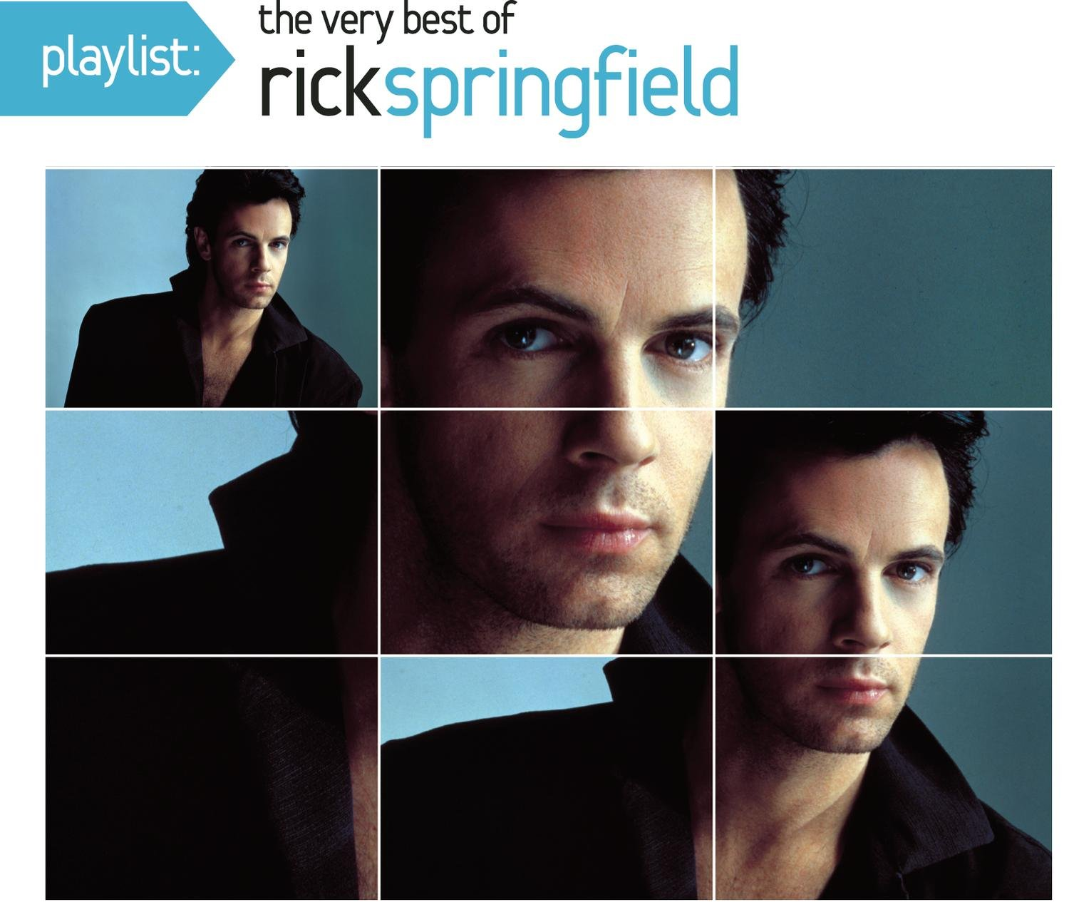 Playlist: The Very Best of Rick Springfield (Eco-Friendly Packaging) by Sony Legacy