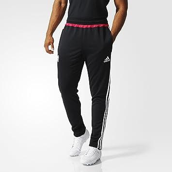 9adef420429db Adidas Juve TRG Pantalon pour Homme, Couleur Noir/Blanc/Rose: Amazon ...