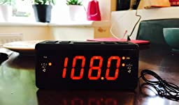 reviews fm radio alarm clock digital am fm radio dual alarm clock with. Black Bedroom Furniture Sets. Home Design Ideas