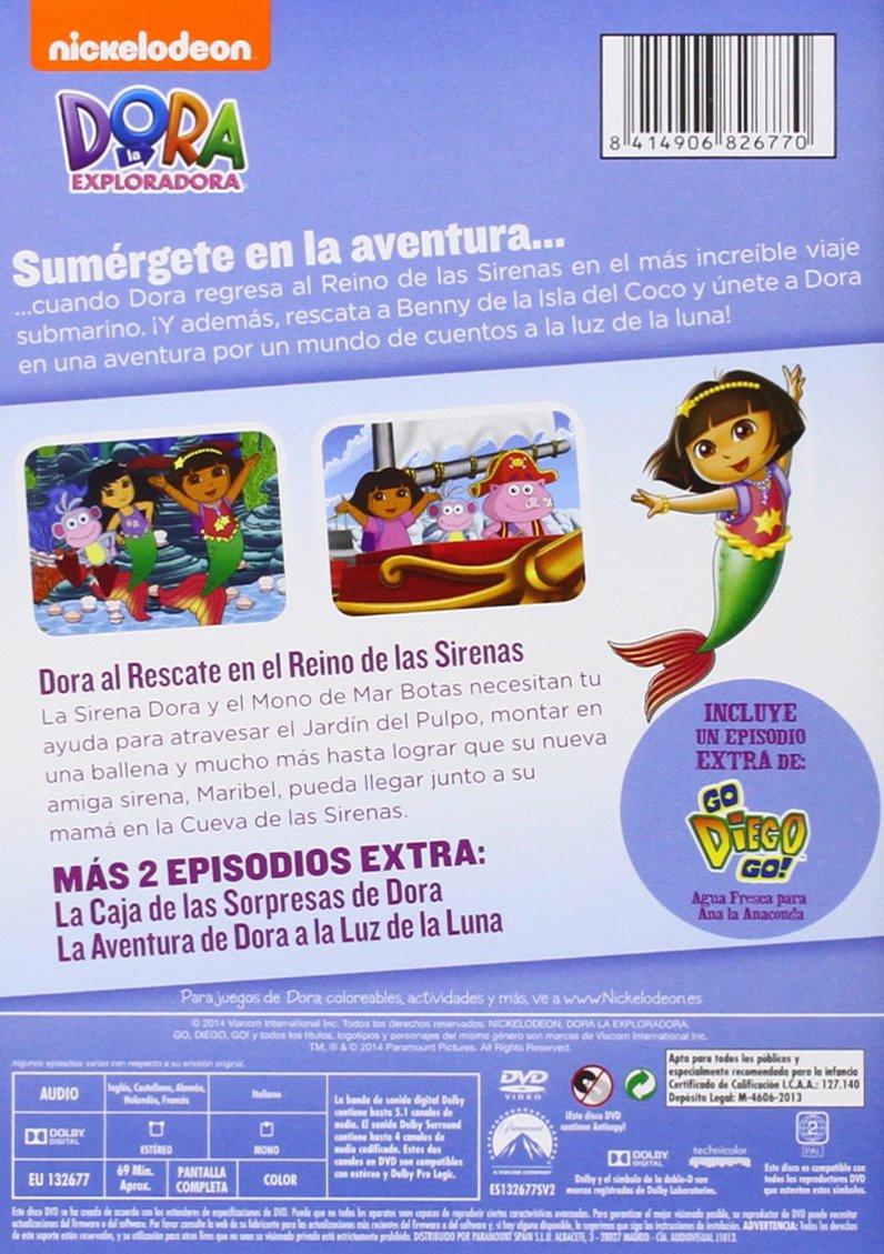Amazon.com: Dora La Exploradora: Al Rescate En El Reino De Las Sirenas (Import Movie) (European Format - Zone 2) (2013): Movies & TV