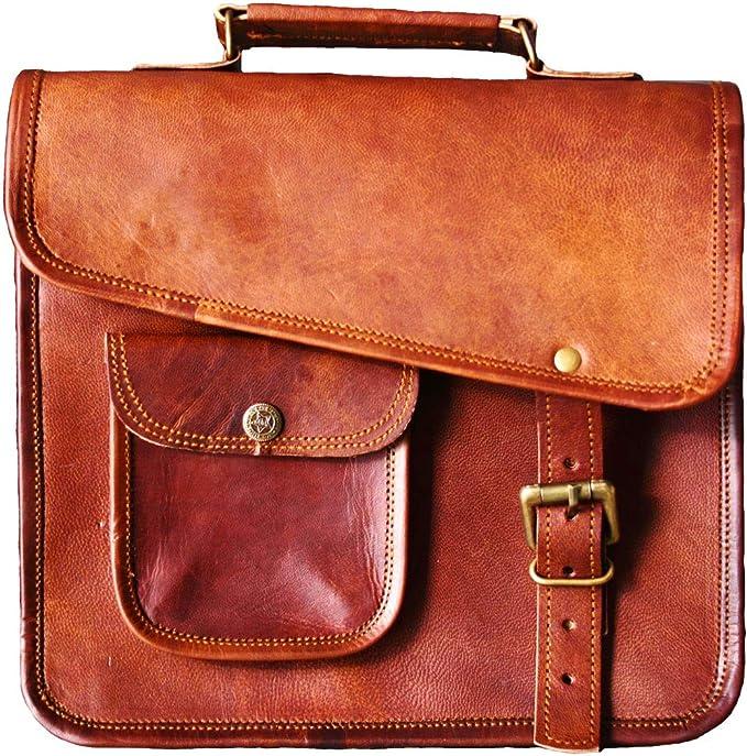 Genda 2Archer Crocodile Embossed Business Satchel Briefcase Tablet iPad Bag