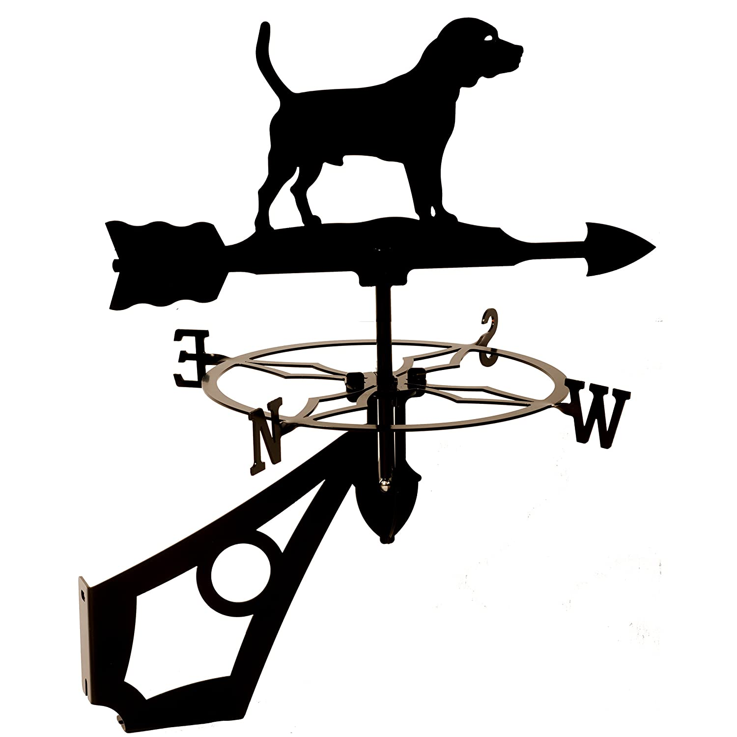 Dragon Laser Ltd. W145BLK Beagle, Dog Weathervane