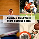 Tennis Socks for Kids, Colorfox Boys Girls Sports